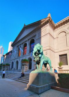 The Art Institute of Chicago is both a world class museum and an institute that offers undergraduate degrees.