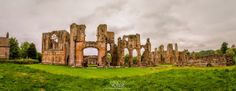 Easby Abbey in Richmond, North Yorkshire