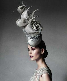 Rococo Inspired Hat ~ Julija Steponaviciute. Approved by Andrea Beaty 70e4e5e7e12