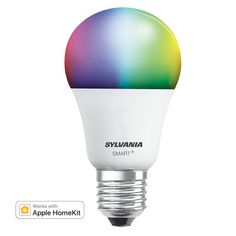 SYLVANIA SMART+ HomeKit A19 Full Color Lamp