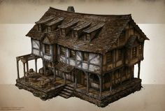 Some Building Concepts for Nordic Games/Grimlore Games upcoming Fantasy RTS/RPG Game Spellforce 3 http://store.steampowered.com/app/311290/ http://grimloregames.com/ https://www.facebook.com/raphael.lubke.31