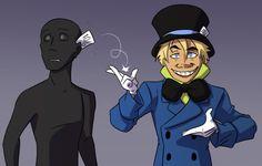Jervis Tetch, Mad, Batman, Tech, Fan Art, Fictional Characters, Crazy Hats, Fantasy Characters, Technology