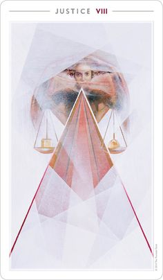 Justice | The Fountain Tarot