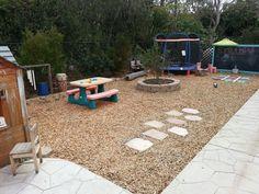 Image result for no grass backyard
