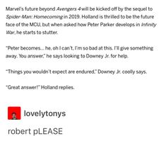 oh my god What if Peter ends up like how Tony was in Iron Man 3? Nightmares and anxiety attacks?