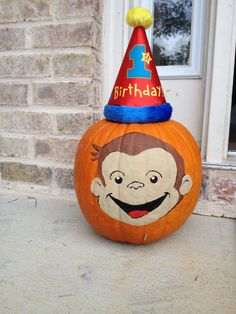 Curious George Painted Pumpkin Related Keywords Suggestions
