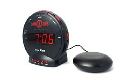 Sonic Bomb Alarm Clock ... $33.94... http://www.realcoolgadgets.com/sonic-bomb-alarm-clock/ #clock #alarm #sonic