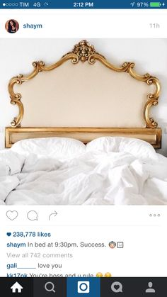 Shay Mitchell's bed