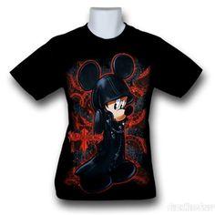 kingdom hearts shirts   Kingdom Hearts Slick Mickey T-Shirt (Sold Out)