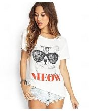 Forever 21 is the authority on fashion & the go-to retailer for the latest trends, styles & the hottest deals. Shop dresses, tops, tees, leggings & more! T Shirts Uk, Cool T Shirts, T Shirts For Women, Clothes For Women, Forever 21, Shop Forever, B Fashion, Fashion Women, Loose Shorts