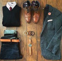 Men's fashion + Men's wear + Men's style + Outfit