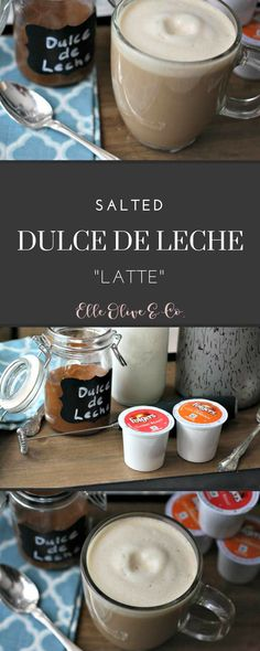 """Easy to make! Skip the coffee shop with this Salted Dulce de Leche """"Latte"""" with @Folgers. #AlwaysTheBestPart AD #fromwhereisip"""