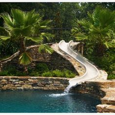 Such a fun waterslide!  Who  would want this in their yard? We sure do... - Home Decor For Kids And Interior Design Ideas for Children, Toddler Room Ideas For Boys And Girls