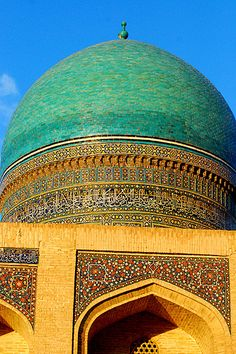 Uzbekistan- my dad travelled here once :)