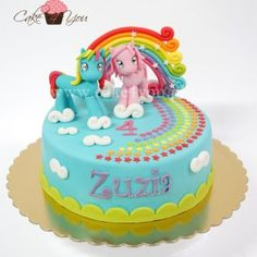 The little Pony cake.