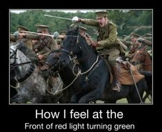 When turning red to green