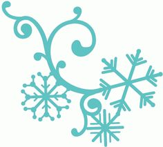 Silhouette Design Store - View Design #68924: winter snowflake flourish