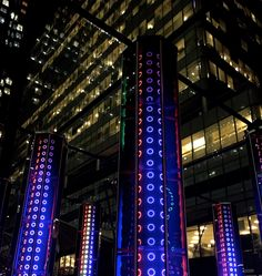 Admiring the 30 light installations in London's Canary Wharf as part of the Winter Lights festival in London Winter Lights at Canary Wharf Winter Light Festival, London Winter, Downtown Portland, Light Installation, Light Up, Life