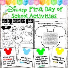 Mickey Mouse Classroom, Disney Classroom, 4th Grade Classroom, Preschool Classroom, Future Classroom, Classroom Themes, Classroom Activities, Disney Activities, Writing Activities