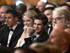 Emma Stone et Andrew Garfield.