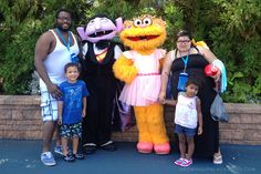 Birthday Celebration at Sesame Place