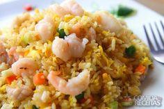 Receita de Arroz frito misto em receitas de arroz, veja essa e outras receitas aqui!