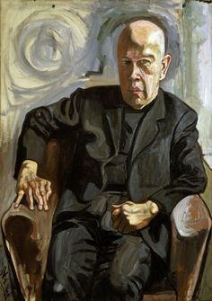 Alice Neel, Max White, 1961, oil on canvas, 101.6 x 71.1 cm.