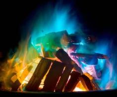 It ain't a party until you pull out a mystical fire flame colored packet and throw it into the fire ring or indoor fireplace for a brilliant display of rainbow flames. Beltane, Color Changer, Into The Fire, Decoration, The Great Outdoors, Summer Fun, Summer Ideas, Camping Hacks, Camping Ideas
