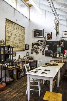 Bohemian Pages: Creative Spaces