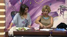 Mulher.com 14/03/2014 Edilmara Gimenes - Lenço de cabelo