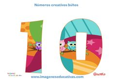Números creativos Búhos 1 al 20 (10)