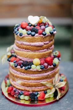 Sommerliche Hochzeit auf dem Land - (Wedding Cake)