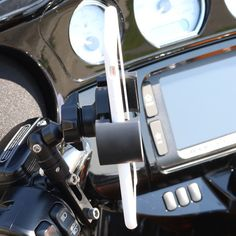 Biker Gripper Control Mount System-Black or Chrome (For Harley & Metric Motorcycles)