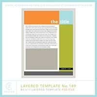 Cathy Zielske's Layered Template No. 149
