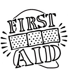 Coloring Page First Aid Kit | Kid\'s Safety | Pinterest | Aid kit