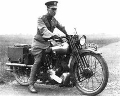 T.E. Lawrence' on his Brough Superior. He called it 'Boanerges' or son of thunder, a name that Jesus called two of his more feistier disciples.