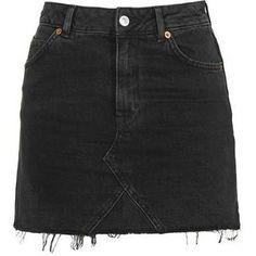 Topshop Moto Highwaist Short Skirt