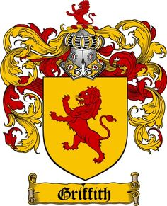 Griffith Family Crest / Griffith Coat of Arms