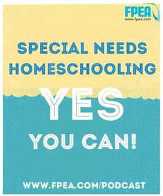 In this episode,  Florida Parent Educators Association (FPEA) Chairwoman, Suzanne Nunn talks about homeschooling your special needs child.