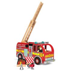 Wooden Educational Toys, Fire Engine, Engineering, Van, Fire Trucks, Mechanical Engineering, Technology, Vans, Fire Truck