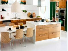 IKEA kitchen planner – Ideas for modern kitchen Ikea - Home Page Kitchen Island And Table Combo, Large Kitchen Island, Kitchen Island With Seating, Kitchen Benches, Dining Table In Kitchen, Kitchen Living, New Kitchen, Kitchen Islands, Dining Tables