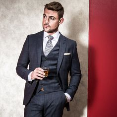 Dress to impress in this stunning, stylish and high quality blue checked luxury tailored fit three piece suit from the Fellini Tailored collection. This suit is tailored fitting and therefore runs true to normal sizing. This great fitting and fashionable suit includes a jacket, matching waistcoat and trousers. Shop now: https://www.slaters.co.uk/fellini-tailored-blue-checked-luxury-tailored-fit-three-piece-suit-02206811