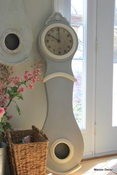 Paris Grey Chalk Paint® decorative paint by Annie Sloan.  for a Mora Clock
