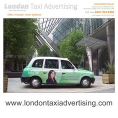 Full Livery Taxi Advertising campaign to promote 'HIBT' the on-campus direct pathway provider of the University of Hertfordshire.
