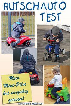 Mein kleiner Mini-Fahrer liebt Autos über alles. Er hat 4 Rutschautos monatelang ausgiebig getestet. Im Test findest du die Rutschauto Testsieger ... Bobby Car, Mini, Baseball Cards, Sports, Babys, Kids Cars, Hamster Wheel, Pilots, Kid Birthdays