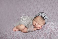 Leighton Heritage Newborn Lace Stretch Wrap by LeightonHeritage
