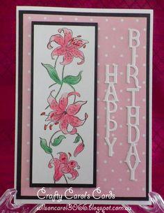 Ladies Birthday Card