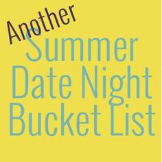 Fun date ideas to help you enjoy summer to the fullest with your spouse. Summer lovin' at its finest! #datenight #marriage #relationship #summer