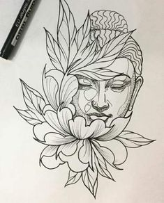 Best tattoo lotus buddha beautiful IdeasYou can find Buddha tattoos and more on our website. Buddha Tattoo Design, Tattoo Design Drawings, Tattoo Sketches, Tattoo Designs Men, Lotus Tattoo Design, Buda Tattoo, Tattoo Motive, Arm Tattoo, Sleeve Tattoos