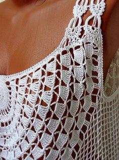 New Crochet Clothes Boho Ideas Ideas Crochet Blouse, Crochet Shawl, Crochet Yarn, Crochet Stitches, Crochet Bikini, Crochet Tops, Crochet Doilies, Crochet Hat For Women, Crochet Flower Patterns